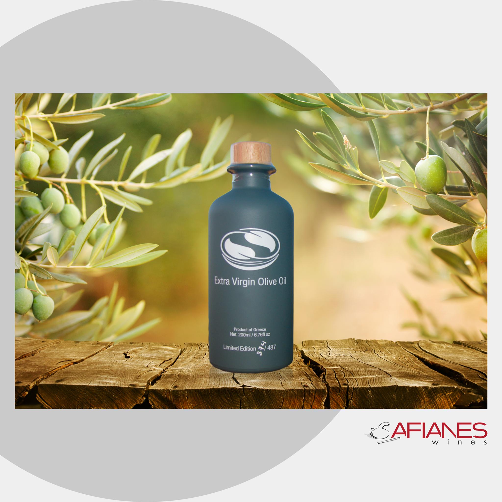 Νέο προιόν – Εxtra Virgin olive oil by Afianes
