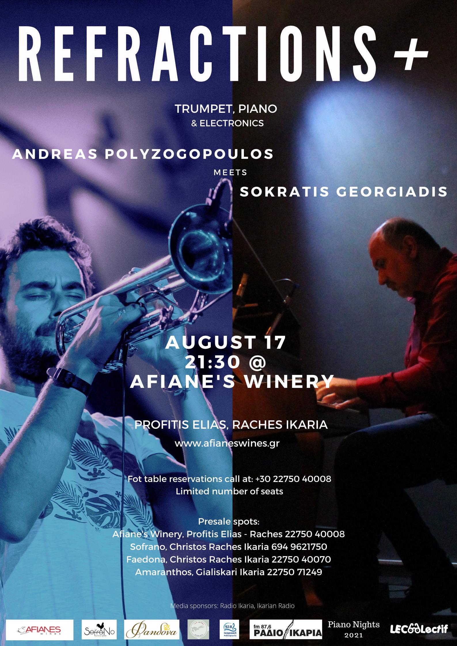 Refractions – Andreas Polyzogopoulos meets Socrates Georgiadis